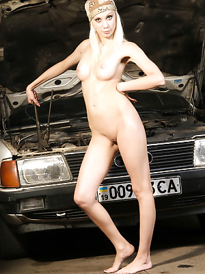 Just-Nude  Ira  Erotic, Garage, Model, Older, Softcore, Beautiful