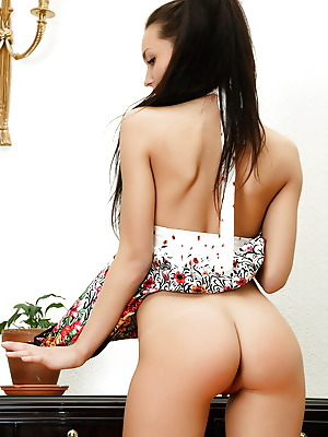Glam Deluxe  Melanie  Pussy, Brunettes, Panty, 18 year, Teens, Young